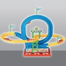 Волшебное сияние Racing Набор трек автомобиля изгиб гибкий, смешные чудесное светящиеся треков игрушка хороший подарок для детей Бесплатная доставка