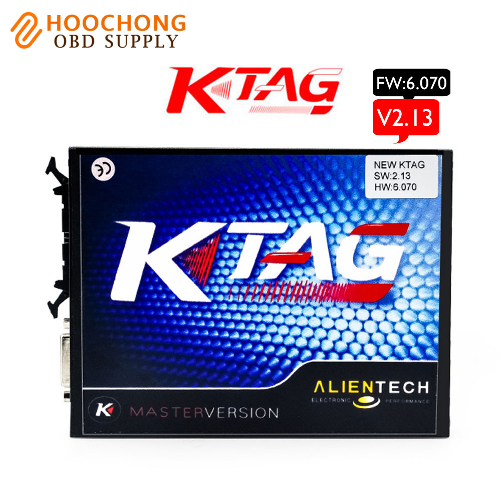 Top Quality V2.13 KTAG K-TAG ECU Programming Tool Master Version Hardware V6.070 ktag No Token limited V 2.13