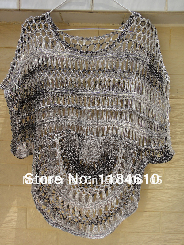 f0b9277846 Tie Dye Short Sleeve Women Crochet Blouse Beach Dress Cover Up -in Blouses  & Shirts from Women's Clothing on Aliexpress.com | Alibaba Group