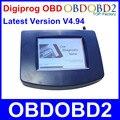 Mais recente Versão OBD Digiprog 3 V4.94 Digiprog III Odômetro Programador Com OBD2 ST01 ST04 Cabo Odômetro Digiprog3 Navio Livre