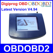 Newest Odometer Programmer Digiprog III OBD Version Digiprog 3 V4.94 With OBD2 ST01 ST04 Cable Odometer Digiprog3 Free Ship
