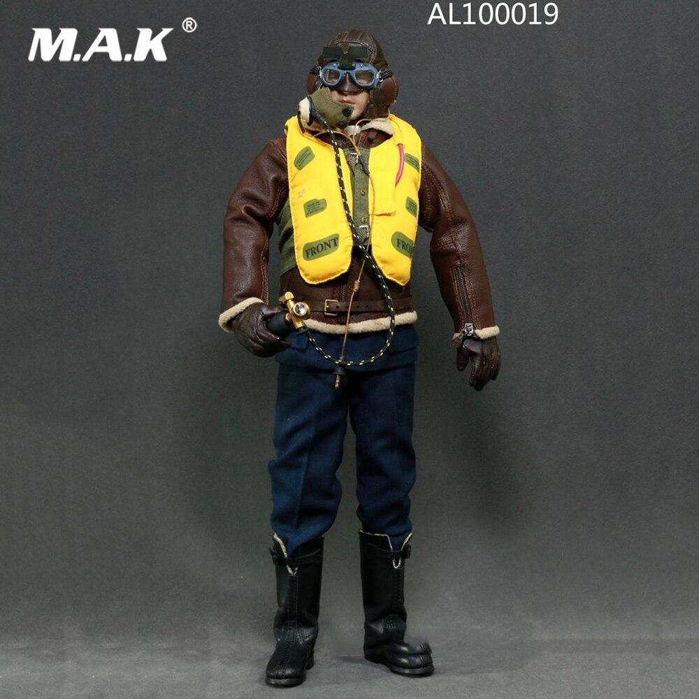 В наличии AL100019 1/6 полный набор военных солдат, фигурка модель WWII, фигурка пилота Королевских ВВС, игрушка для коллекции в подарок