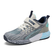 Kids Boys Sport Shoes Children Sneakers Casual Boy Wear Resistant for Girls Outdoor Breathable Trainers 1928