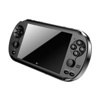 New 4.3'' Color Screen Portable Game Handheld Game Console 4GB Memory Builtin 300 games For PSP Game Camera Video E book as Gift
