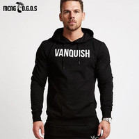 Autumn Winter Newest Men S Hoodie Gyms Zipper Neck Cotton Bodybuilding Fitness Men Brand Sweatshirts Clothes
