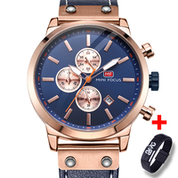 Fashion Men Watch Top Brand Luxury Military Quartz Mens Watches Waterproof Leather Wristwatch Sport Male Clock Relogio Masculino