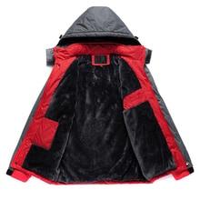 Chaqueta impermeable de lana gruesa para hombre, prendas de vestir militares, de talla grande 5XL, abrigo cortavientos