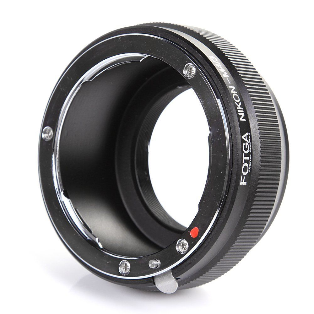 Bague D'adaptation Objectif fotga pour Nikon AI F lens pour Micro 4/3 M43 E-M5 E-PM2 E-PL5 GX1 GF5 G5 E-PL7