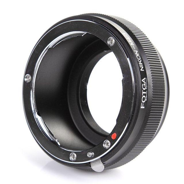 FOTGA Lens Adapter Ring voor Nikon AI F lens Micro 4/3 M43 E M5 E PM2 E PL5 GX1 GF5 G5 E PL7