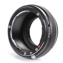 FOTGA anillo adaptador de lente para Nikon AI F lente a Micro 4/3 M43 E M5 E PM2 GX1 GF5 G5 E PL5