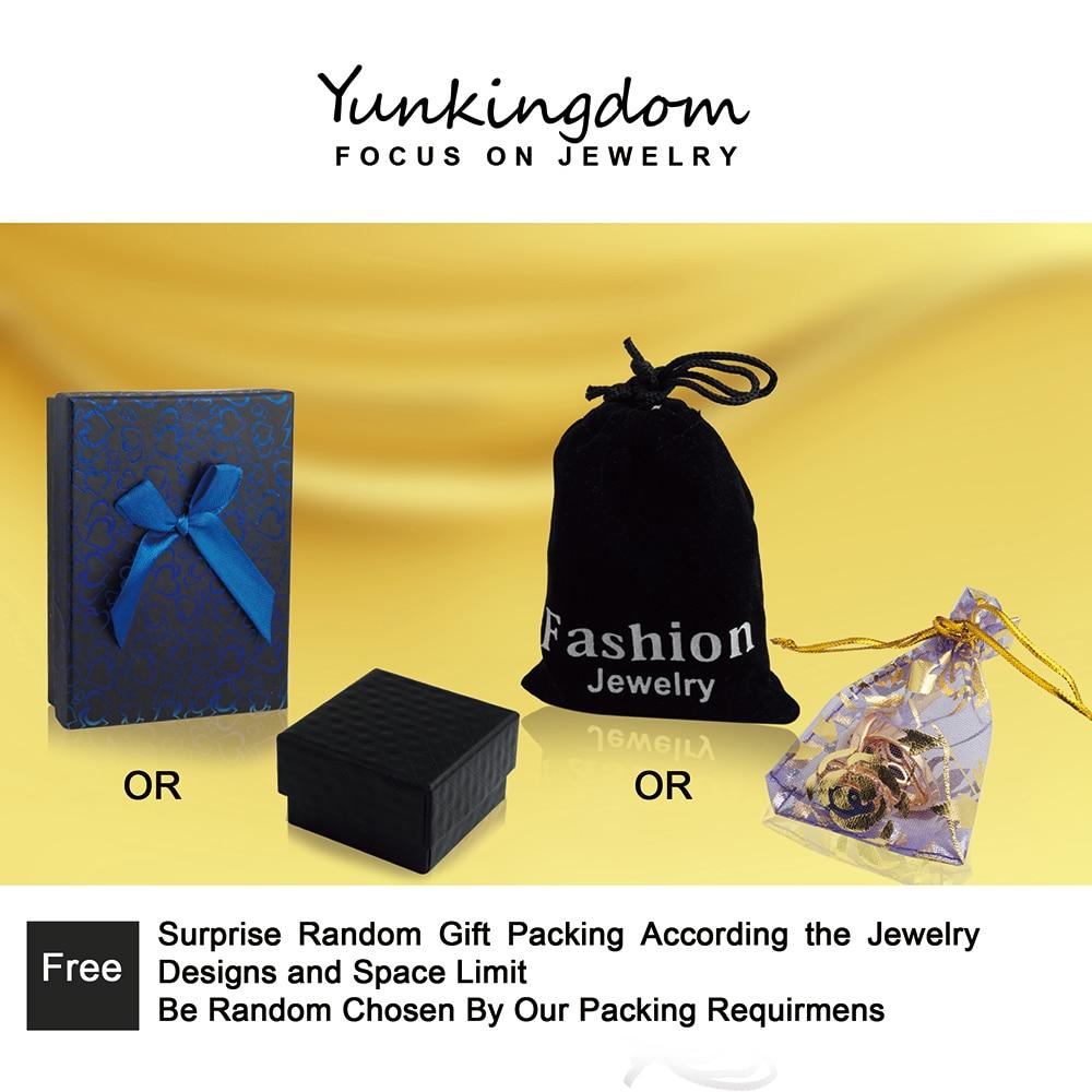 Yunkingdom hyperbole grande bague fête reine banquet anneaux pour - Bijoux fantaisie - Photo 6