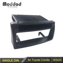 Din Audio Fascia for TOYOTA Corolla w pocket Headunit font b Radio b font CD GPS
