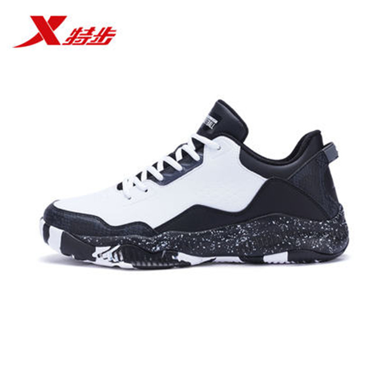 XTEP  Authentic Men's Basketball Shoes Boots Outdoor cool Sports Shoes PU Gym Breathable Sneakers free shipping 982119129075 kuangmi camouflage size 7 basketball ball outdoor indoor pu leather basketball cool street freestyle basketbal 1pc