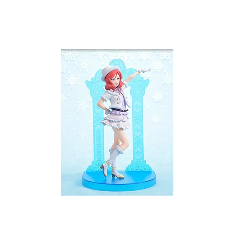 ZXZ Japanese Love Live! Snow Halation Maki Nishikino Action Figure PVC Collection Figures Toys Gift Decoration Doll желе пудинг snow love 10