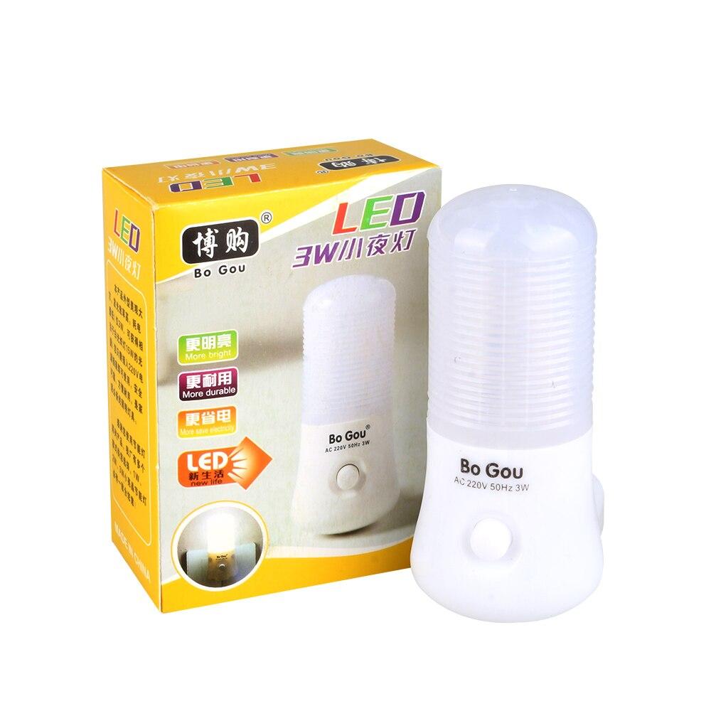 Night Lights Novelty LED EU/US Plug Night Light Wall Socket Bedside Lamp Home Decoration Lamp For Children Baby Bedroom X