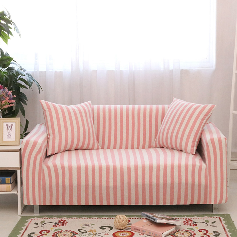 compare prices on modern white couch online shoppingbuy low  - pink and white stripes antislip coverscheap universal couch sofacoversmulti