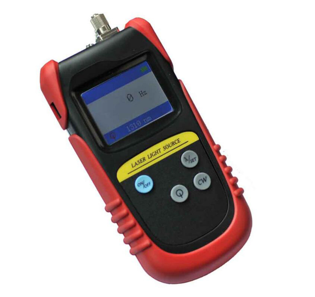 Tld7002p fibra óptica laser source1310 / 1490 / 1550nm fonte de luz vermelha de fibra FTTH fibra testador de instrumento por DHL