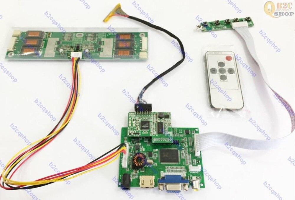 HDMI + VGA + AV de entrada pantalla LCD Placa de controlador Monitor Kit para M201Z2 M01 TMDS 1680X1050-in Kits de domótica from Productos electrónicos on AliExpress - 11.11_Double 11_Singles' Day 1