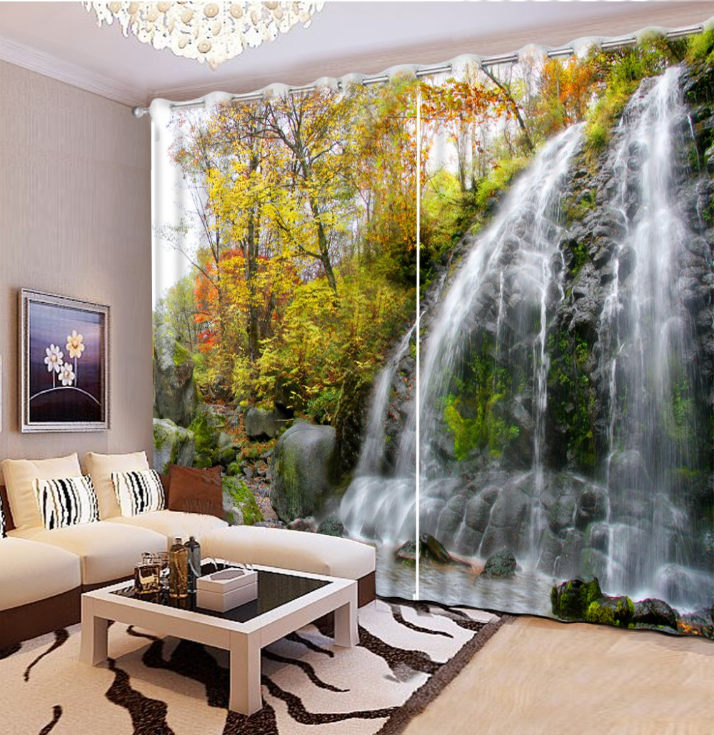 Custom any size natural scenery 3d curtains modern window colorful window curtains home decor decoration Custom any size natural scenery 3d curtains modern window colorful window curtains home decor decoration
