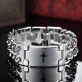 man braclet Vintage Fashion Attractive Men Jewelry Stainless Steel Bracelets & Bangles Personalized Charm Man Bracelet