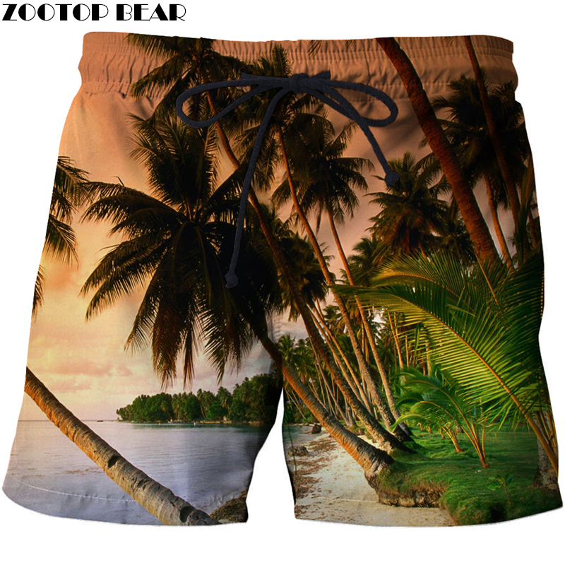 Coco 3D Print Summer Surfing Beach Shorts Masculino Men Printed Board Travel Shorts Anime Short Plage DIY Quick Dry Streetwear