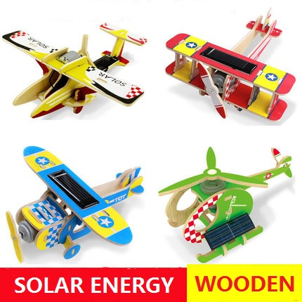 Solar energy powered education toys little gift for for Solar electricity for kids