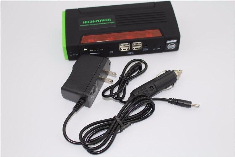 Chargeur externe de batterie externe de voiture de secours de démarreur de saut multifonctionnel