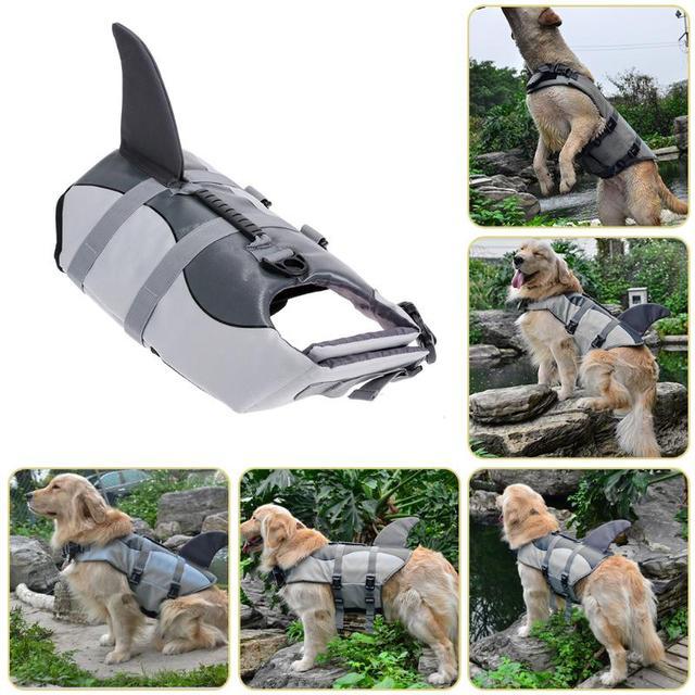 Dog's Shark / Mermaid Swimming Safety Vest 5