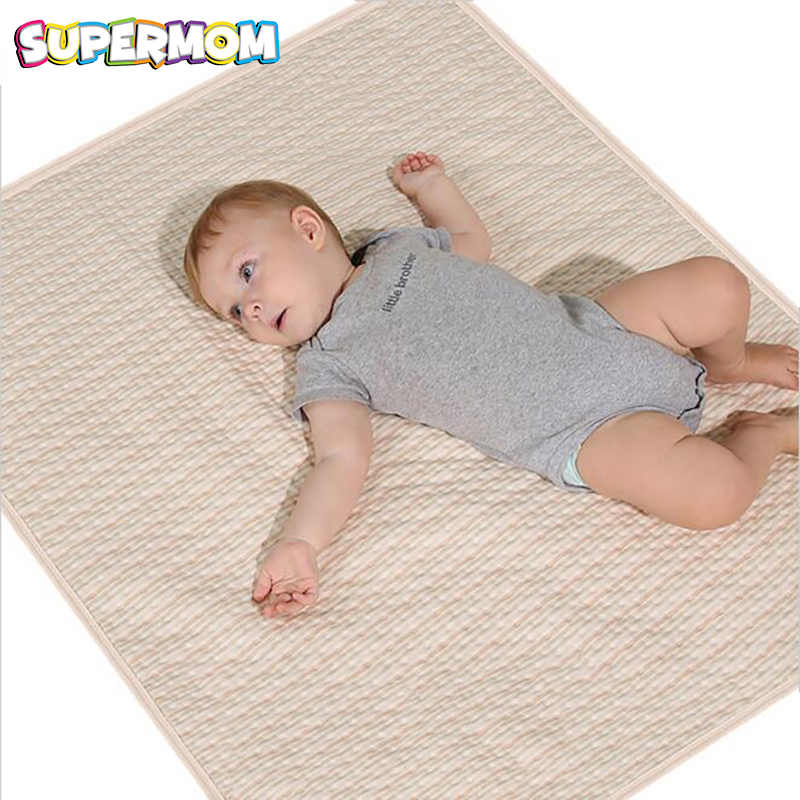 Waterproof Infant Diaper Mat Blanket Baby Changing Pad Washable Nappy Changing Cushion Cotton Bedding Mattress Newborn Bed Sheet стоимость