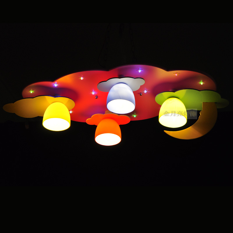 kids room ceiling lighting. cartoon childrenu0027s room lamp led ceiling lights kids boys and girls bedroom light pink blue lighting