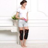 Elektrische verwarming knie warmte beschermende magnetische therapie warme zorg oude product knie massage massage knie