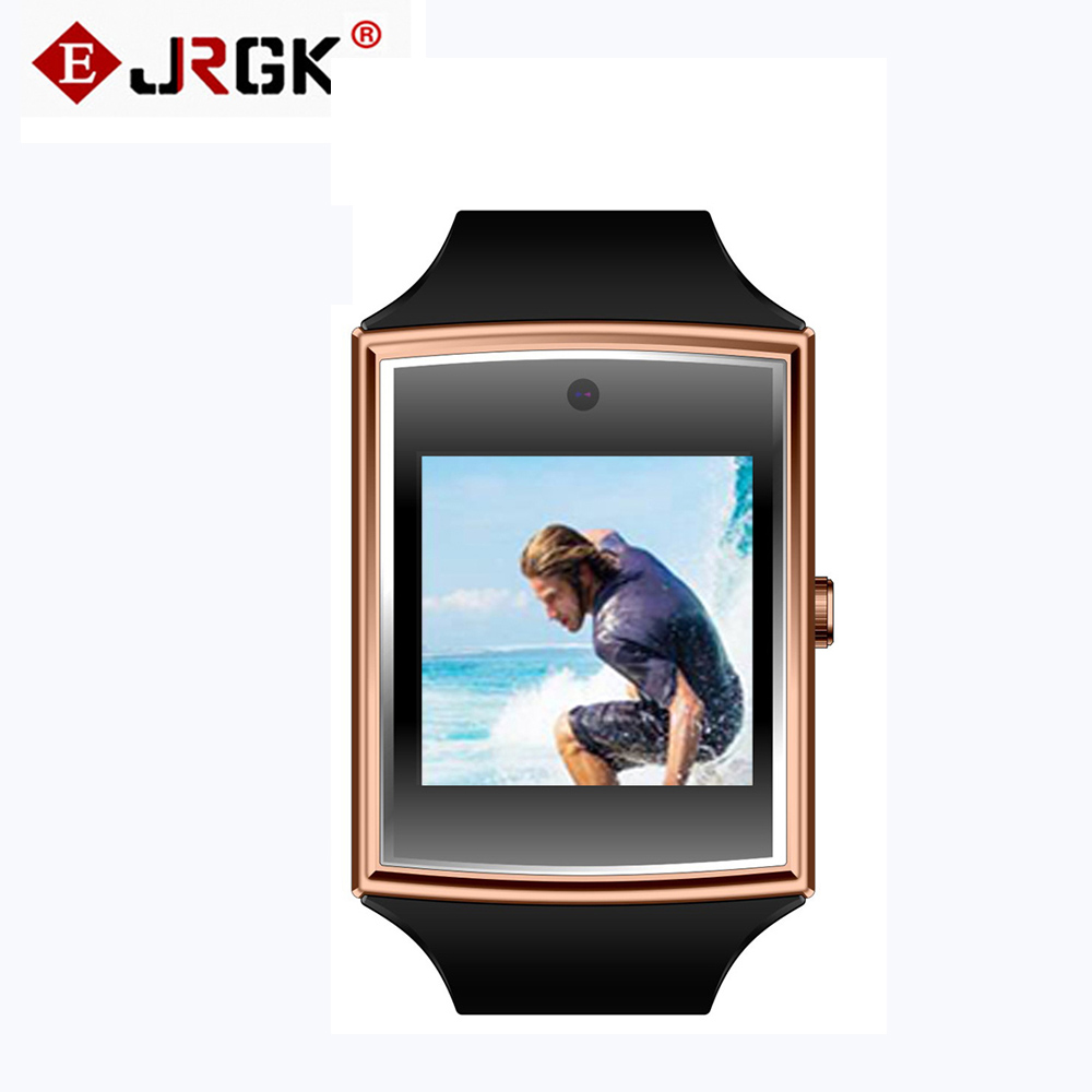 LG518 Bluetooth NFC Smart Watch Waterproof With Sim TF Card Health Monitor Smartwatch for iOS Apple
