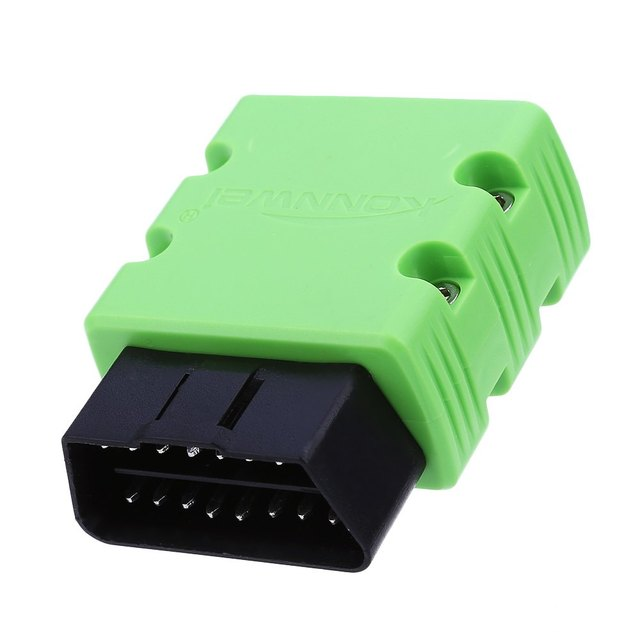 Green Mini Bluetooth Wirless OBDII Automotive Diagnostic Scanner Car Scan Tool Konnwei KW902 with Stable Wireless Connection