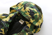 Hooded Camo Jacket for Boys