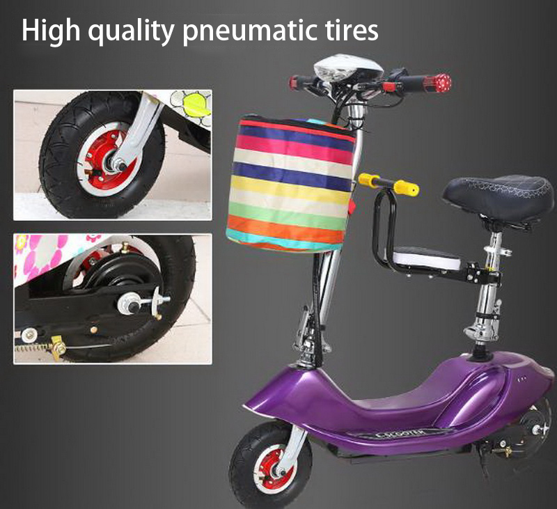 Sale 261025/Ladies mini folding car bicycle scooter adult student portable two rounds/Scrub pedal 30-50km/h velo electrique 10