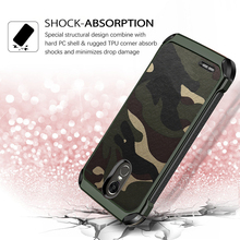 Army Camo Camouflage Armor Back Cover For LG G5 G6 G7 Phone Case V10 V20 V30 K10 Soft TPU Shockproof