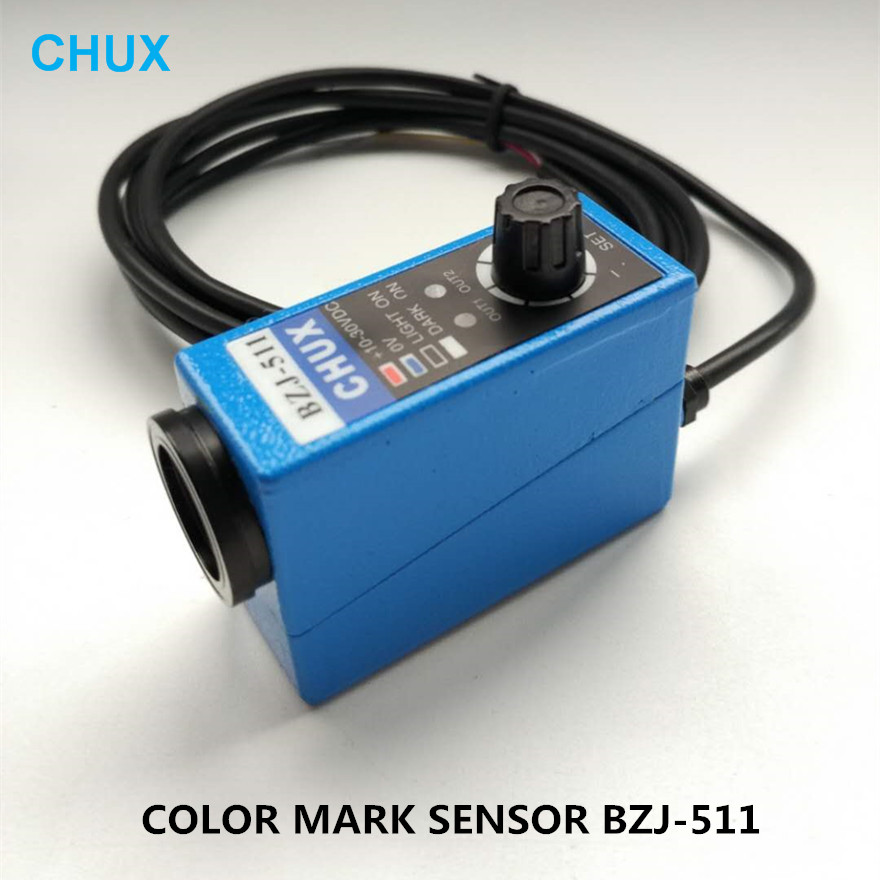 CHUX BZJ-511 Infrared Photoelectric Switch Supply Voltage 10-30VDC 2M cable Color Mark Code Sensor ghosh abhik letters to a young chemist