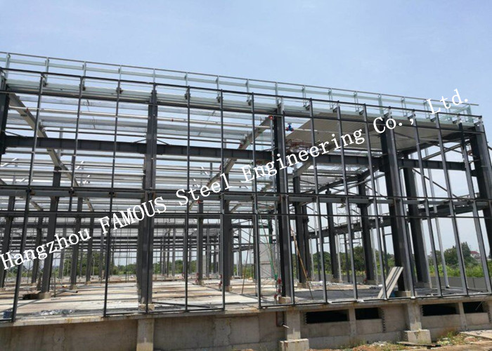 Painted Or Hot Dip Galvanized Steel Building General Contractor High Storey Steel Buildings