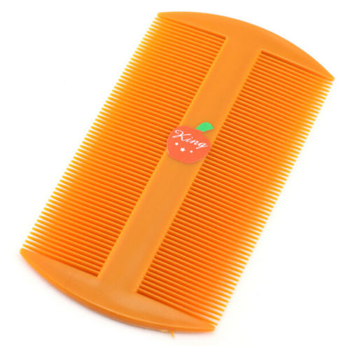FD2422 Durable Double Side Nit Comb for Head Lice Dectection Comb Kids Pet Flea