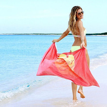 2016 Hot VS 75*145 cm Rosa Absorbente 100% Algodón Baño Toalla de Playa Toalla de Baño de Protección Solar de Secado Ducha Mujeres envío Gratis