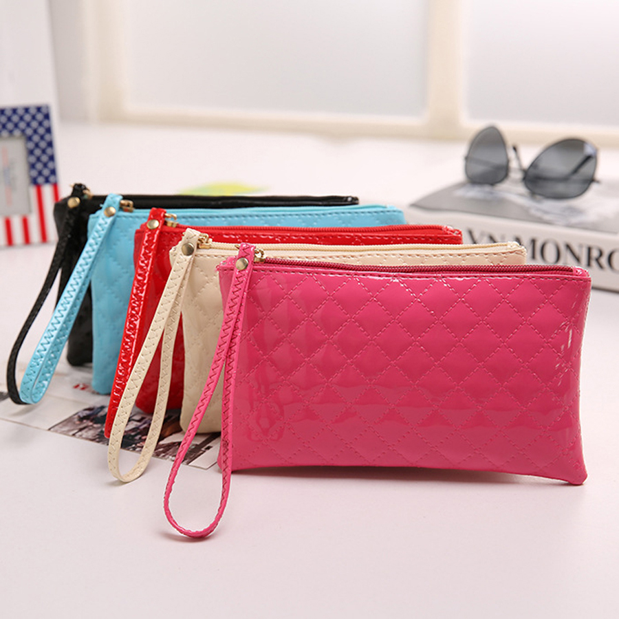 Small Change Coin Purse Children Baby Lady Fashion Zipper Brand Women Wallet Female Pouch Case Phone Bag For Girl Kid Money Euro