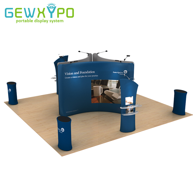 Exhibition Booth Accessories : Ft trade show booth size portable stretch fabric