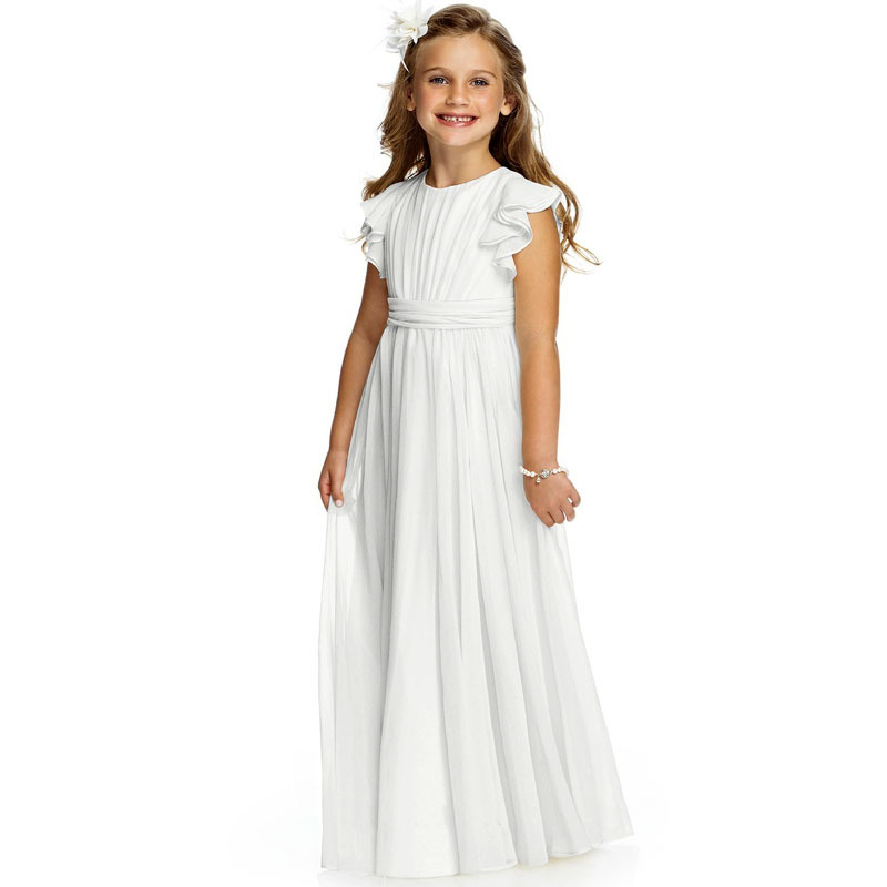 Aliexpress.com : Buy Rustic Country Girl White Pageant Dresses ...