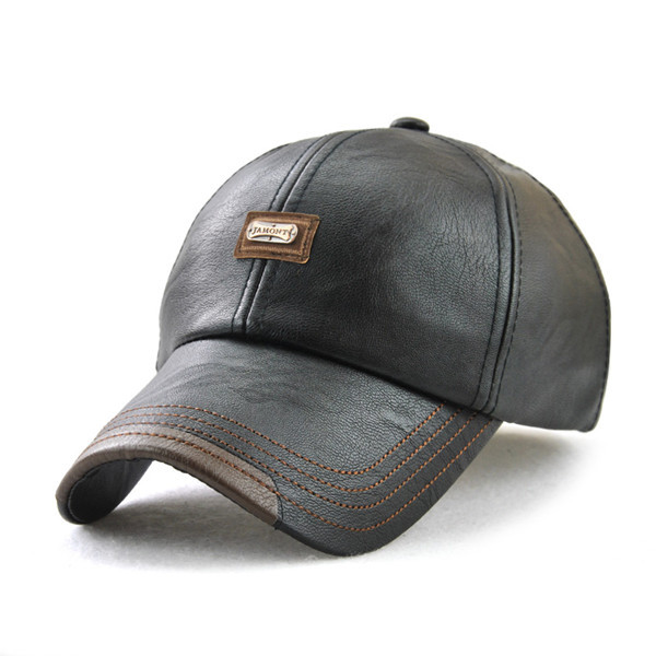 ad80997b1f1 Товар Xthree New fashion high quality faux leather Cap fall winter ...