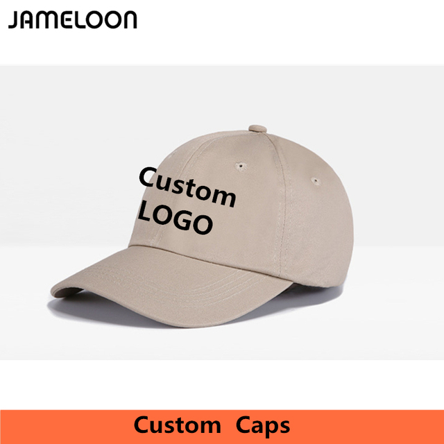 Custom Dad Hat Dead Cap Personalized Embroidery Printing Logo Adult