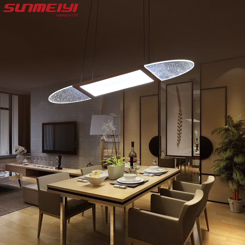 Modern LED Pendant Lights For Dining Room lamparas colgantes pendientes Hanging Decoration Lamp Lighting suspension luminaire aluminum chain tassel pendant lights e14 led silver pendant lamp lamparas colgantes lustre project light pendientes hanglamp new
