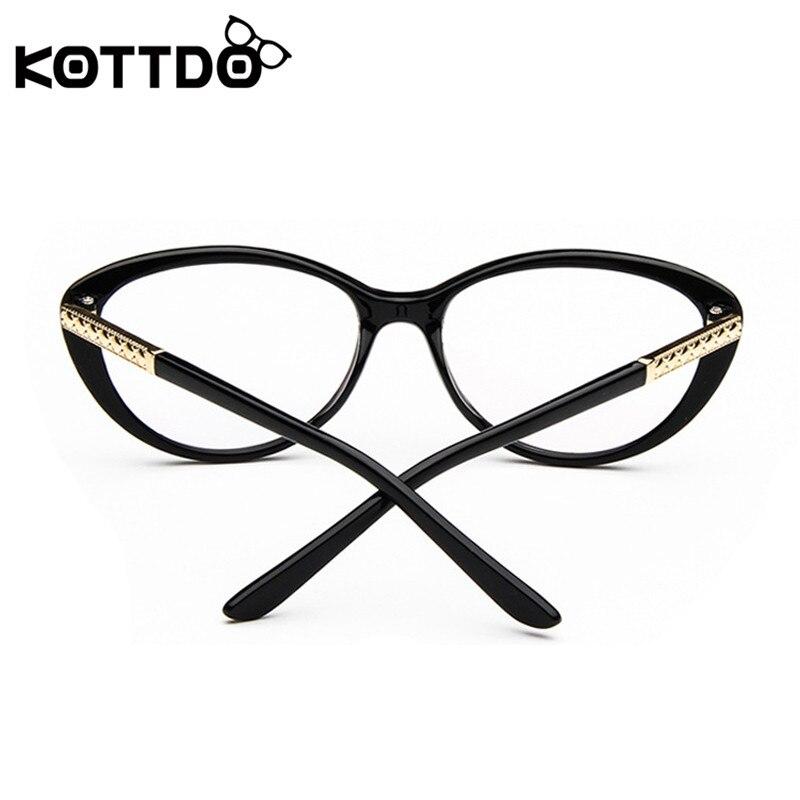KOTTDO Retro Cat Očala okvir Okenska optična očala Receptna očala - Oblačilni dodatki - Fotografija 6