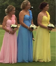 Wholesale Bridesmaid Dress A line One shoulder Beading Size 4 6 8 10 12 14 16