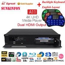 Egreat A11 Caixa de TV Do Google Android 5.1 HD Ultra Grande Jogador & XBMC KODI para Blu-ray 3D WIFI Gigabit LAN DTS Dolby ÁTOMOS X VIDON 2