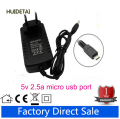 5V 2.5A  2500mA AC  DC Power Supply Adapter  Wall Charger For teclast x98 air 3g US UK EU PLUG